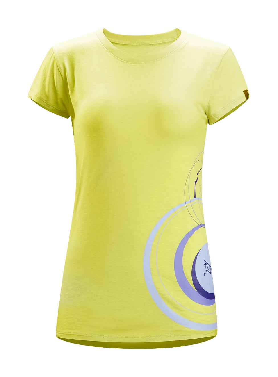 Arcteryx Lemon grass Round Logo T-Shirt - New